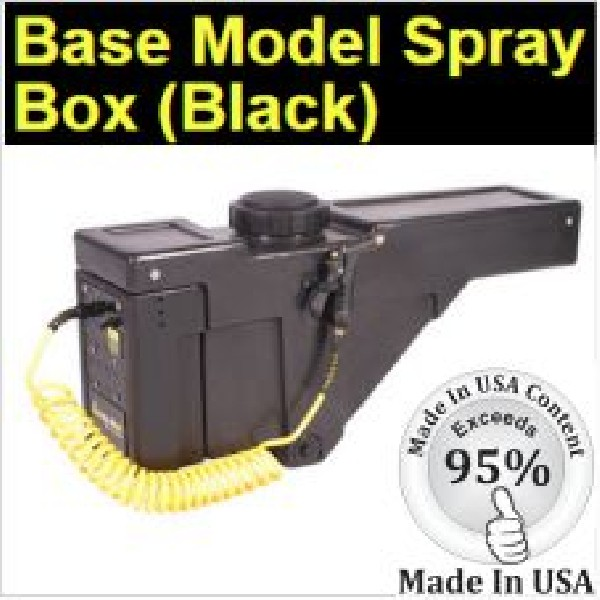 The Spray Box Base Model - Perfect for Pickup Truck Bed